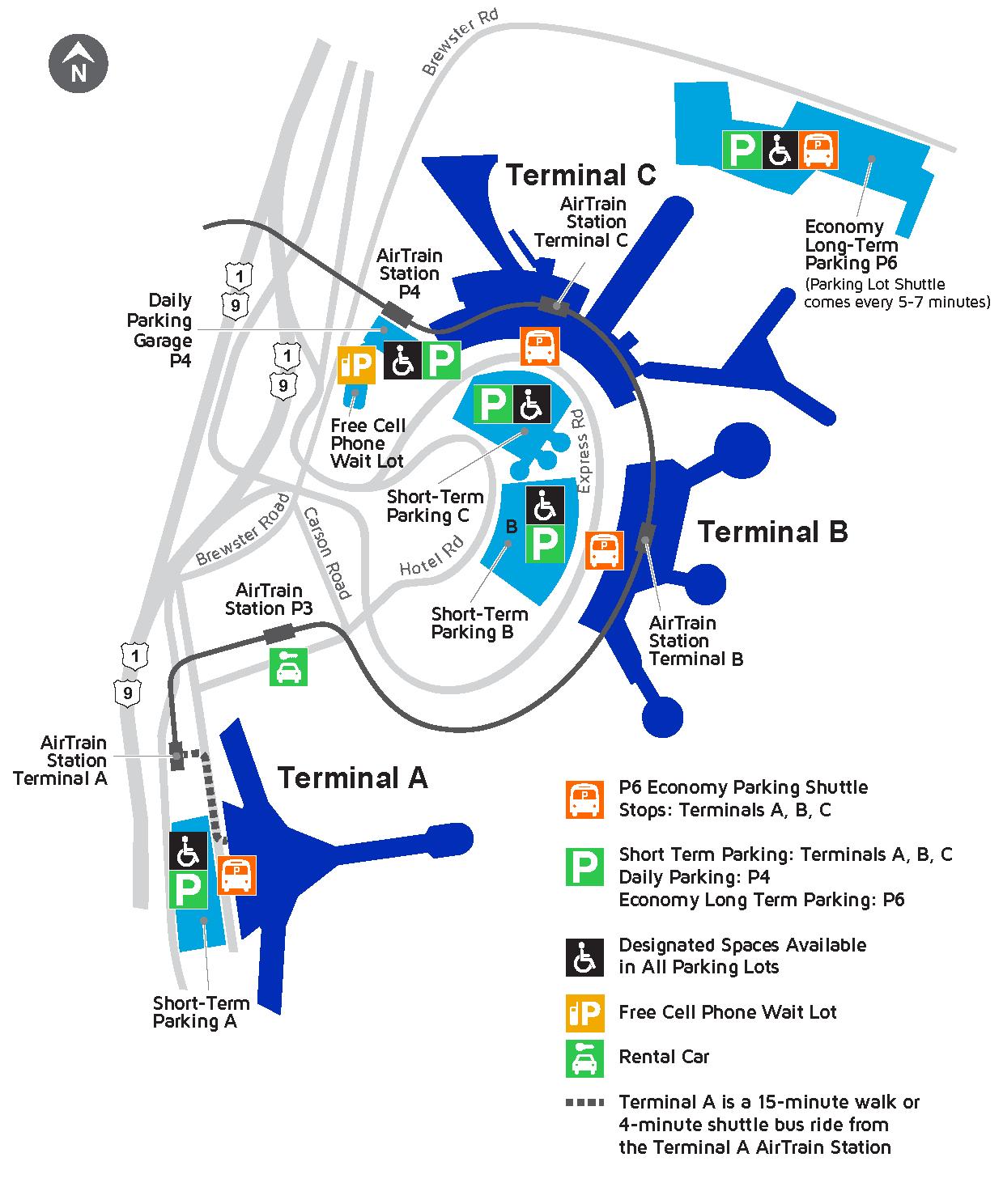 Newark Airport Terminal C Map