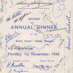 Annual dinner 1948