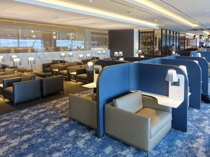 United Polaris Lounge Newark Airport