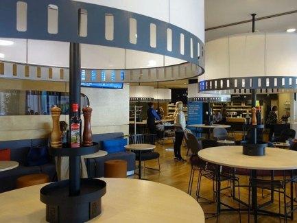SAS Business Lounge Newark Airport