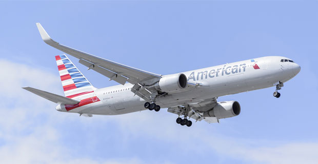 American Airlines at Newark