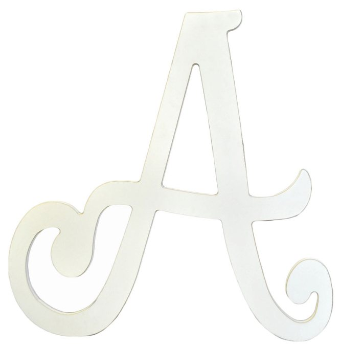 Large Wooden Letter P Craftcuts Com