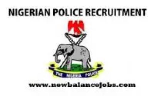 Nigeria Police recruitment 2020