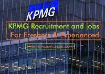 KPMG Recruitment and jobs for freshers