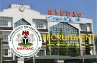 NAFDAC Recruitment Application Form & Portal Registration | nafdac.gov.ng