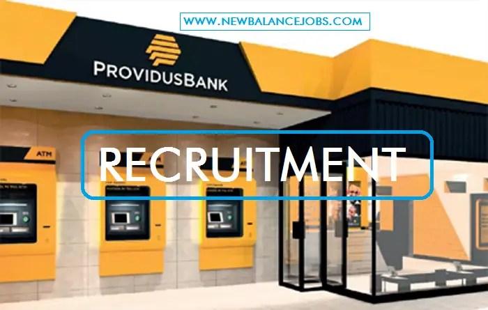 Providus Bank Recruitment 2020/2021 Application Form