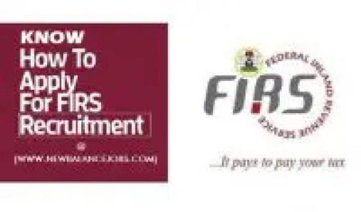 FIRS Recruitment career portal