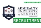 Admiralty University of Nigeria job
