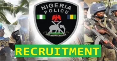 Nigeria Police Force Recruuitment