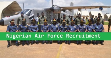 Nigerian Air Force Recruitment