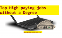 Top High paying jobs without a Degree