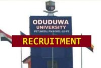 Oduduwa University Recruitment