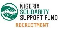Nigeria Solidarity Support Fund (NSSF) job