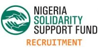 Nigeria Solidarity Support Fund (NSSF) job