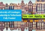 University Medical Center Groningen Scholarship