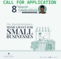 the march 8th initiative msme grant for small businesses
