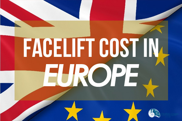Facelift cost in Europe