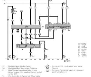 Wiring Diagram for Windshield Wipers  NewBeetle Forums