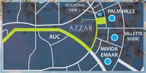 كمبوند ازار القاهرة الجديدة Compound Azzar New Cairo