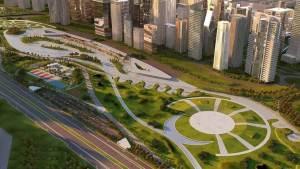 خريطة العاصمة الادارية الجديدة