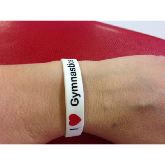 I love gymnastics wristband