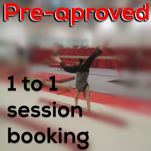 Pre-approved 1-to1 sessions booking