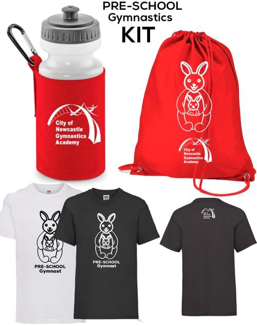 PRE-SCHOOL Gymnastics Kit