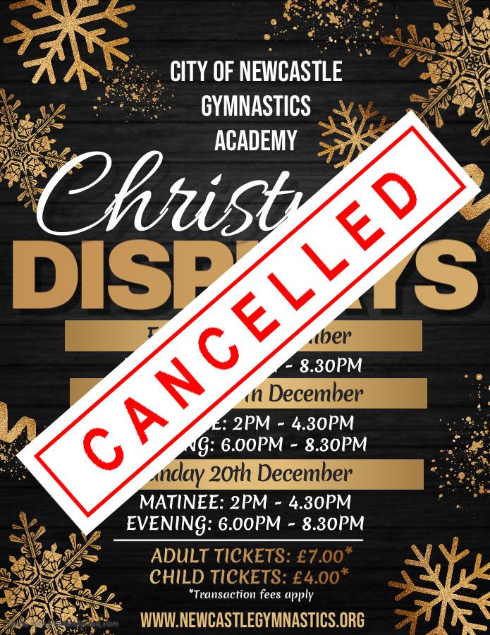 CNGA Christmas Display 2020 Cancelled