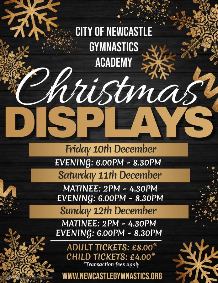 Christmas Display 2021 | City of Newcastle Gymnastics Academy