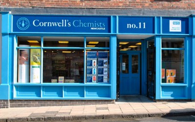 """""""We are happy and very proud to serve the community in Newcastle"""" – Cornwell's Chemists"""