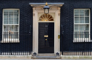 Government Number 10 downing street