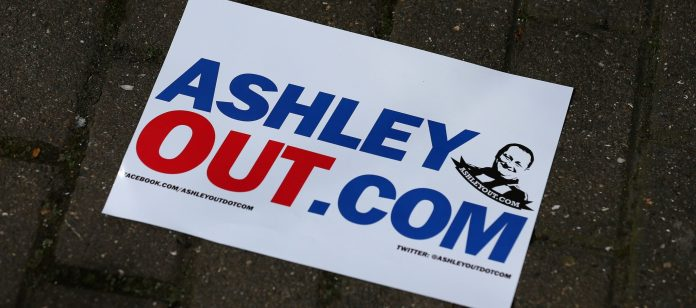 Mikey Ashley Out - Newcastle United