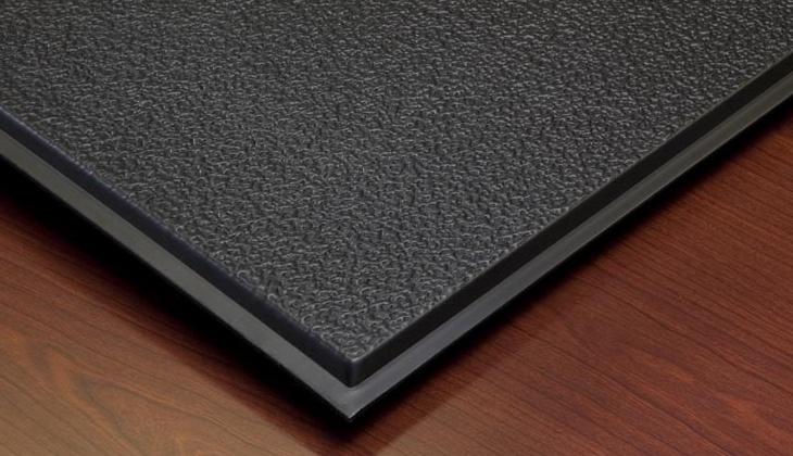 Stucco Teg 2 X 2 Revealed Edge Black Box Of 12
