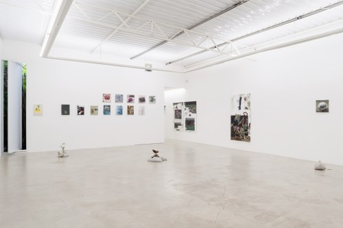 Bruno Drolshagen, installation view