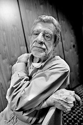Prolific artist, photographer, poet and graphic designer Fernando Lemos, ninety years old