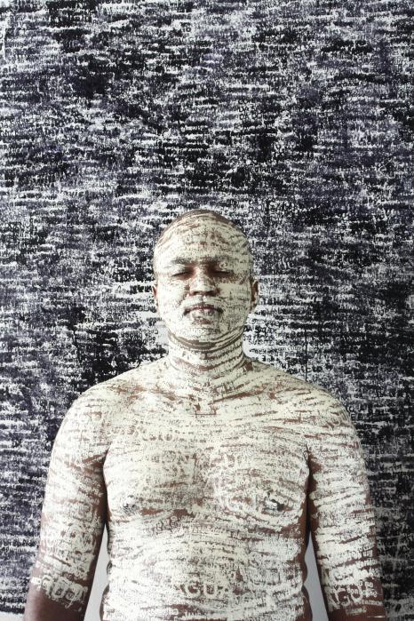 "Dalton Paula, from ""A notícia,"" 20 x 30 cm/Photo: Heloá Fernandes 2013"