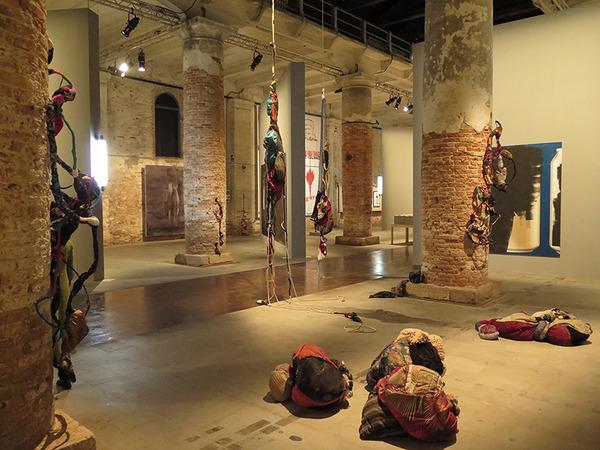 "Sonia Gomes, 56 Biennale di Venezia 2015, ""All the World's Futures"" curated by Okwui Enwezor"