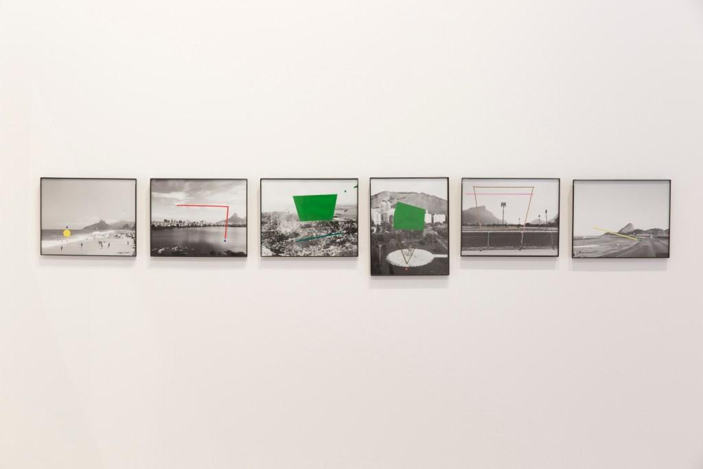 "Alice Quaresma, ""Nest"" series (2015-16). ""Threaded,"" School of Visual Arts' Flatiron Space/Photo: Leandro Viana. 2016"