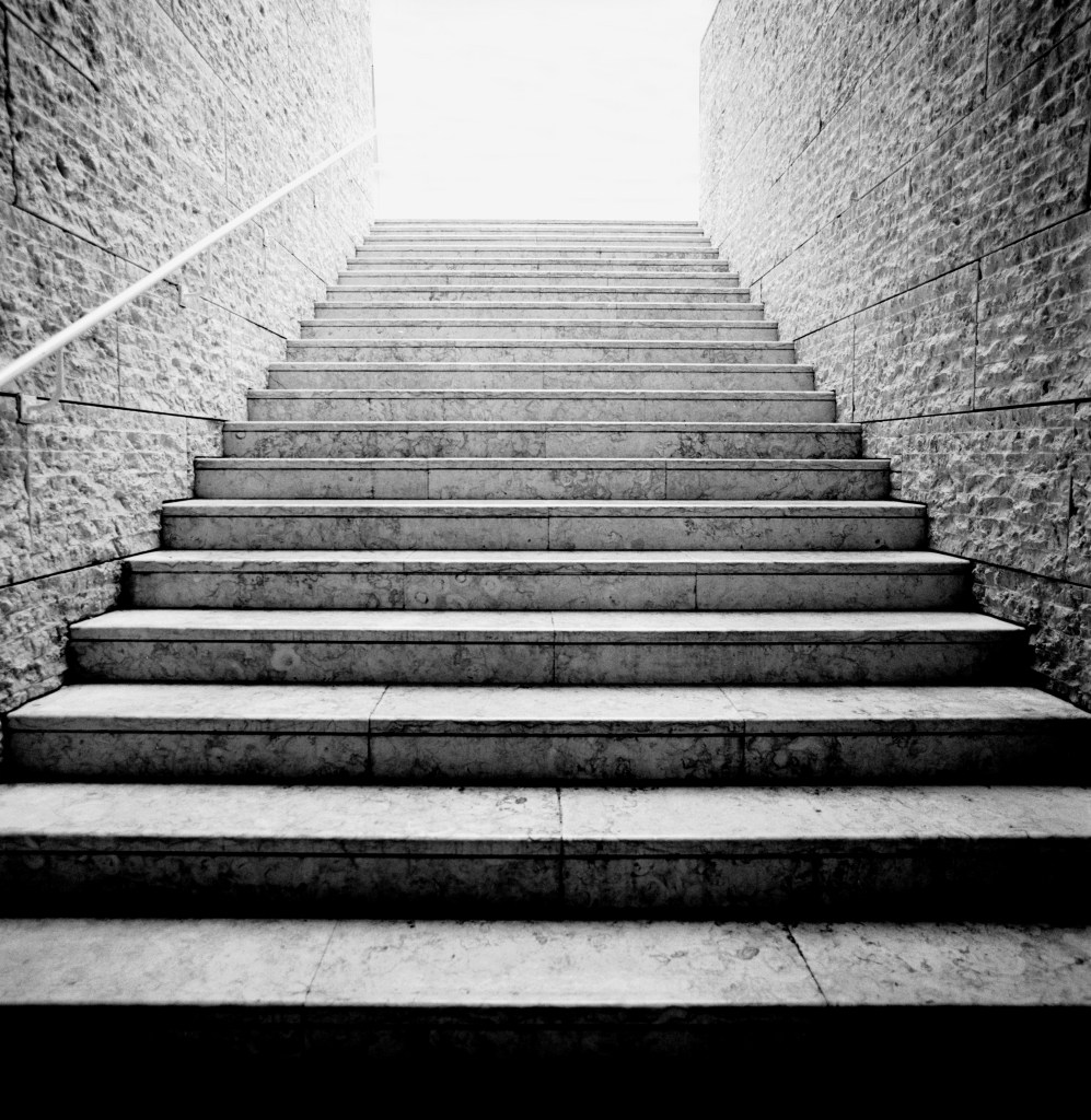 Romulo Fialdini, Stairway to Heaven, 2000, print on fine art Hahnemuhle paper, edition 1:7, 120 x 120 cm, courtesy Galeria Raquel Arnaud