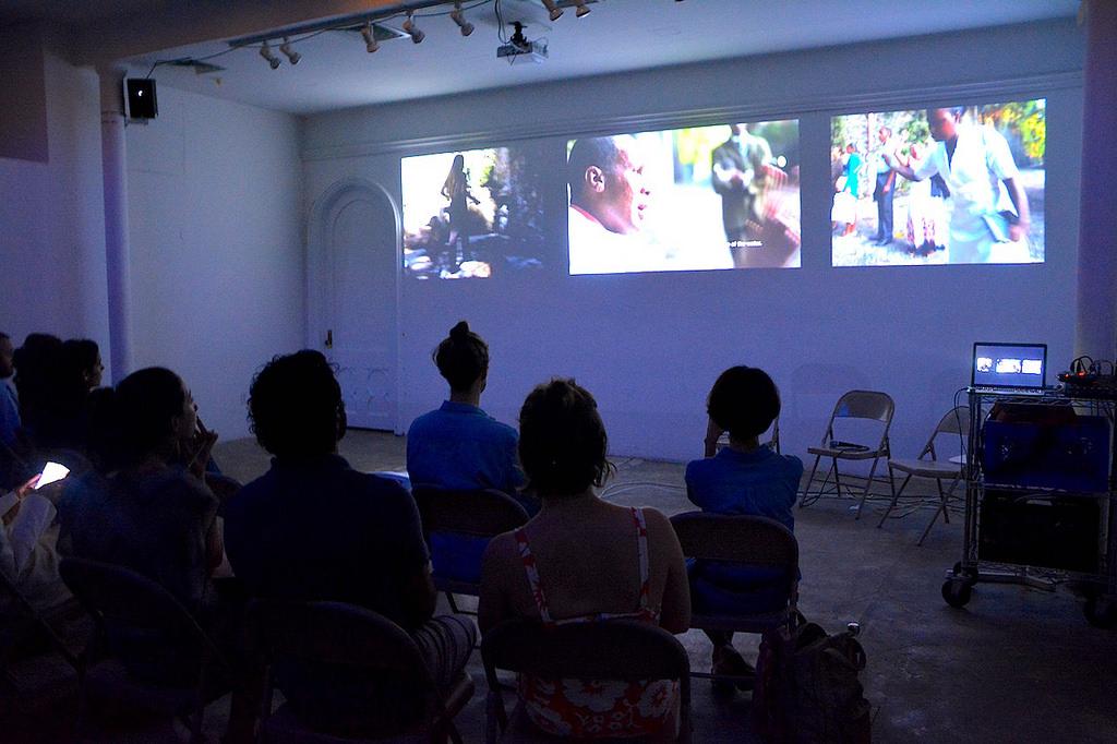 "Virginia de Medeiros, ""Sérgio Simone,"" (2007-16). Screening at Residency Unlimited, Brooklyn, 2016/Courtesy: Residency Unlimited, 2016."