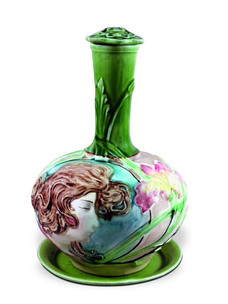 Eliseu Visconti, Moringa (Ceramic Water Vessel), h. 28 cm - Ø 18 cm, 1909. Collection Tobias Visconti