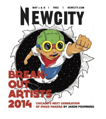 Last year's Breakout Artists cover, with artwork by Hebru Brantley