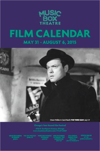 Music Box Film Calendar June-July 2015 Cover