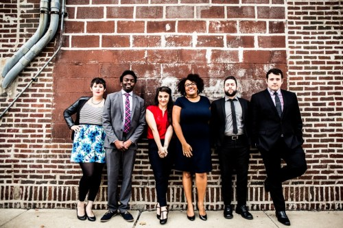 Casey Whitaker, Martin Morrow, Kelsey Kinney, Ali Barthwell, Jasbir Singh, Charles Pettitt (photo by Kirsten Miccoli)