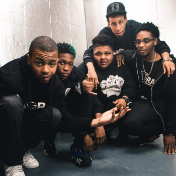 The Era, left to right: Dempsey, Steelo,  P-Top, Litebulb, Chief Manny/Photo: Joe Mazza /Brave Lux