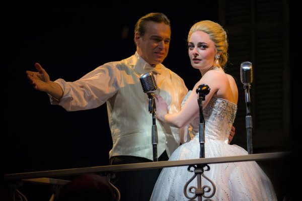 Larry Adams and Hannah Corneau/Photo: Liz Lauren