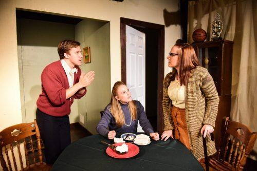 Felipe Carrasco, Sara Pavlak McGuire and Sarah Koerner/Photo: Evan Hanover