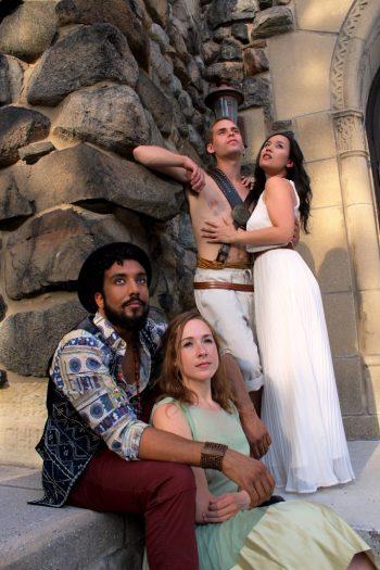 (top) Zachary Schley and Karissa J. Murrell Myers (bottom) Raj Bond (Romeo) and Tara Bouldrey/Photo: