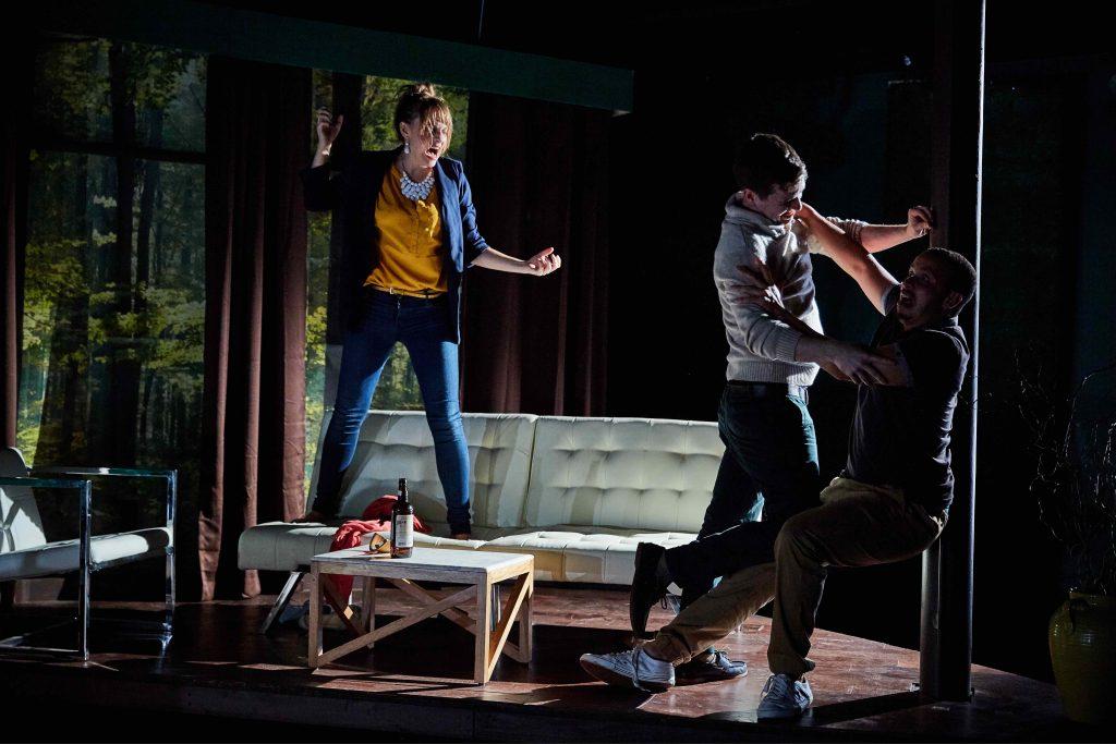 Kay Kron, Alex Stage and Tony Santiago/Photo: Ian McLaren