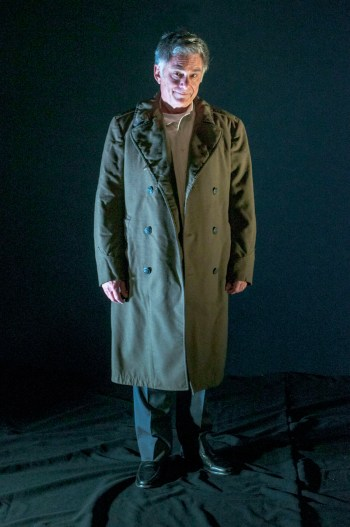"Gene Weygandt in Greenhouse Theater Center's of ""Uncle Philip's Coat""/Photo: Alex Higgin-Houser."